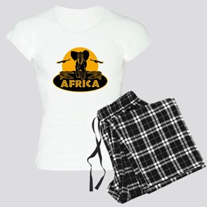 Africa Safari Women's Light Pajamas