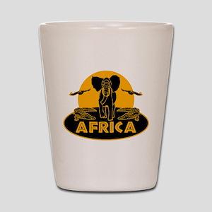 Africa Safari Shot Glass