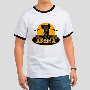 Africa Safari Ringer T