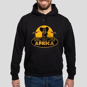Africa Safari Hoodie (dark)