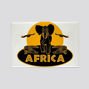 Africa Safari Rectangle Magnet