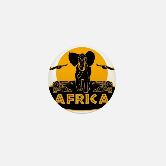 Africa Safari Mini Button