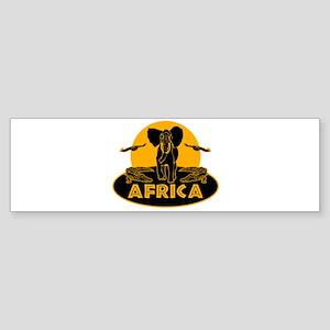 Africa Safari Sticker (Bumper)