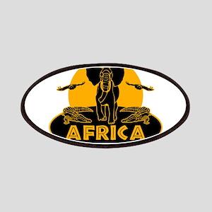 Africa Safari Patches