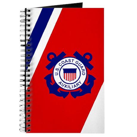 USCG Auxiliary Stripe<BR> Log Book