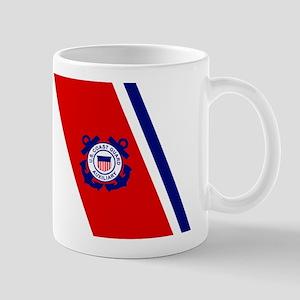 USCG Auxiliary Stripe<BR> 11 Ounce Mug