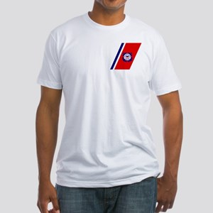 USCG Auxiliary Stripe<BR> Fitted T-Shirt 1