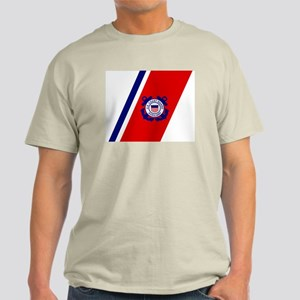 USCG Auxiliary Stripe<BR> Grey T-Shirt 3