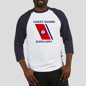 USCG Auxiliary Stripe<BR> Blue Jersey 2