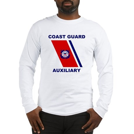 USCG Auxiliary Stripe<BR> Long Sleeves 2