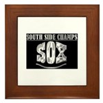 South Side Champs SOX Framed Tile