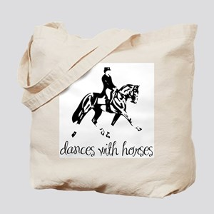 Dances With Horses Tote Bag