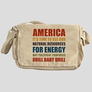 American Energy Messenger Bag