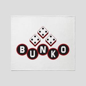 Bunko Dots Throw Blanket