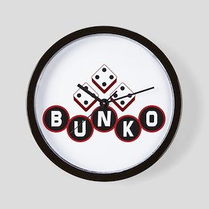 Bunko Dots Wall Clock