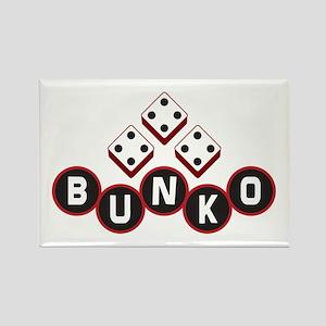 Bunko Dots Rectangle Magnet