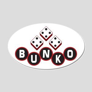 Bunko Dots 22x14 Oval Wall Peel