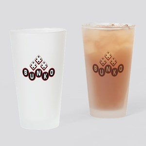 Bunko Dots Drinking Glass