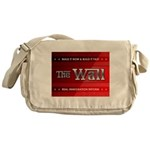 Build The Wall Messenger Bag