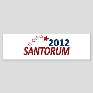 Vote Santorum 2012 Sticker (Bumper)