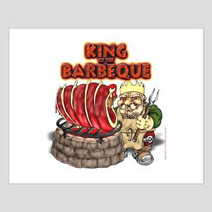 Dwarven BBQ King Small Poster