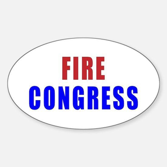 Fire Congress sticker