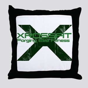 XrossFit Throw Pillow
