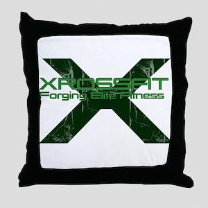 XrossFit Throw Pillow