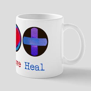 Peace Love Heal Mug