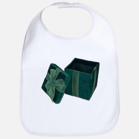 Open Velvet Gift Box Bib