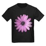 Purple Daisy Kids Dark T-Shirt