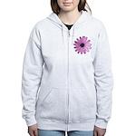Purple Daisy Women's Zip Hoodie
