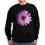 Purple Daisy Sweatshirt (dark)