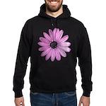 Purple Daisy Hoodie (dark)