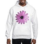 Purple Daisy Hooded Sweatshirt