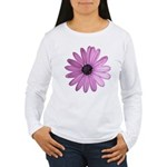Purple Daisy Women's Long Sleeve T-Shirt