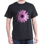 Purple Daisy Dark T-Shirt