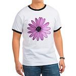 Purple Daisy Ringer T
