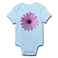 Purple Daisy Baby Light Bodysuit