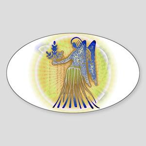 06 - Virgo V Sticker (Oval)