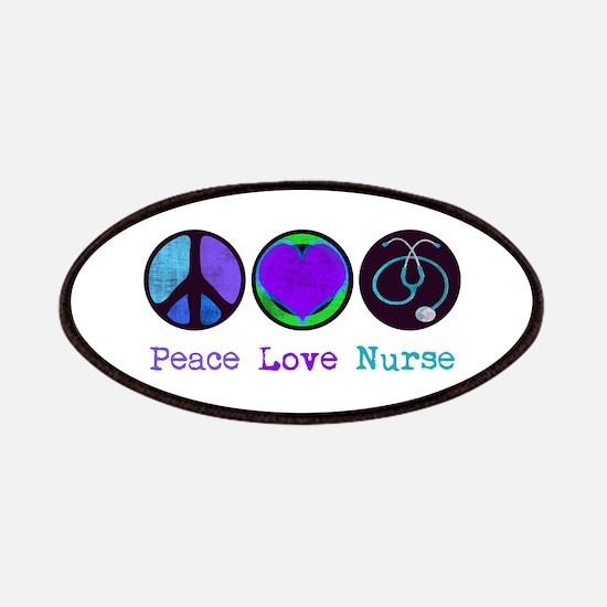 Peace Love Nurse Patches