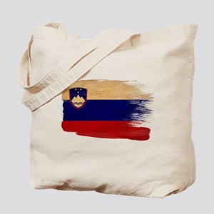 Slovenia Flag Tote Bag