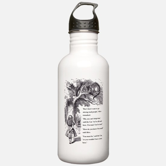 Mad People Water Bottle