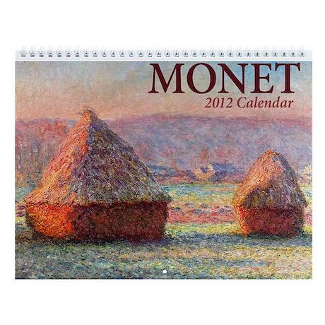 Monet 2013 Wall Calendar