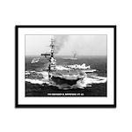 USS FRANKLIN D. ROOSEVELT Framed Panel Print