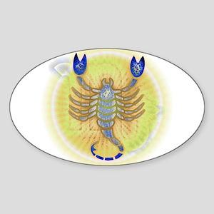 08 - Scorpio V Sticker (Oval)