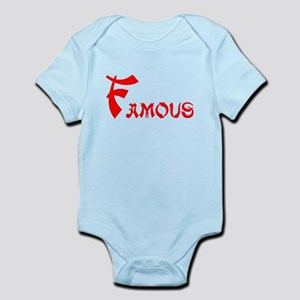 Famous Infant Bodysuit