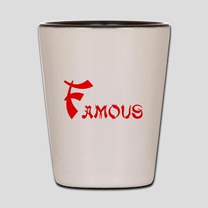 Famous Shot Glass