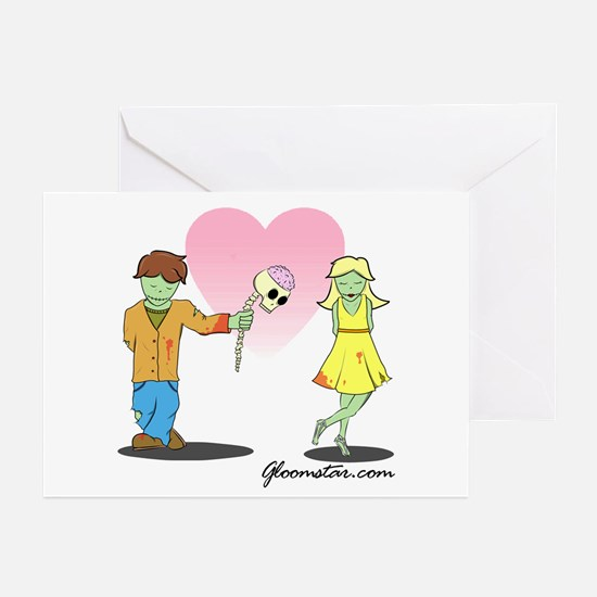 Young Zombie Love Greeting Cards (Pk of 20)