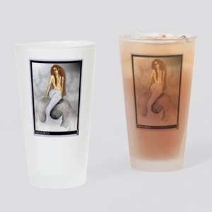 Mermaid, Tranquility Drinking Glass